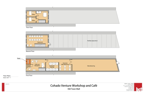 Cohado Cafe Floor Plan